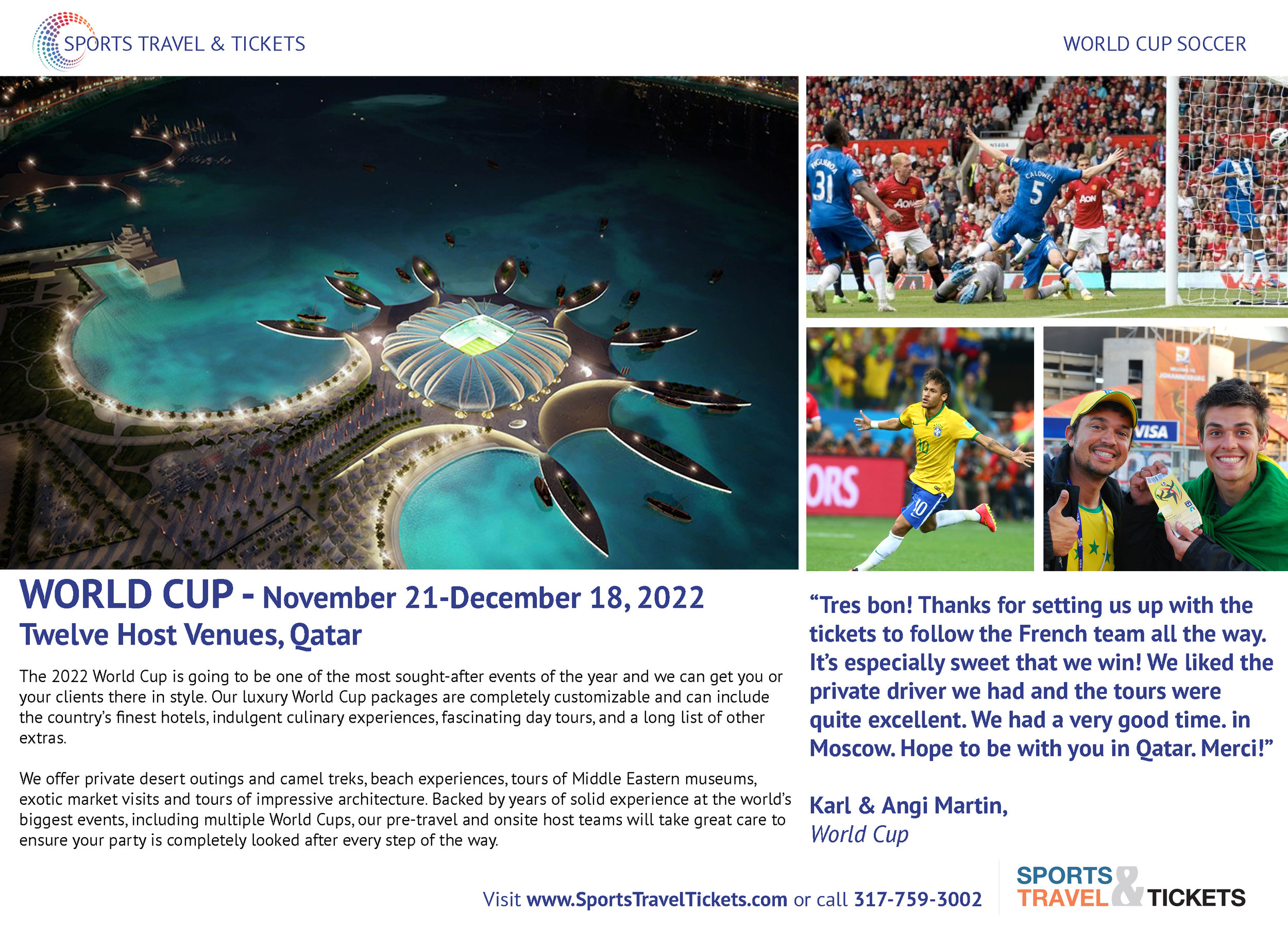 Sports Travel & Tickets Brochure World Cup Soccer football travel ticket packages.jpg