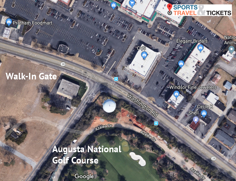 Sports Travel & Tickets offers VIP gold level hospitality directly across the street from Augusta National Golf Course. We are the very closest hospitality club to the tournament. Only a brief walk and you are inside the tournament!