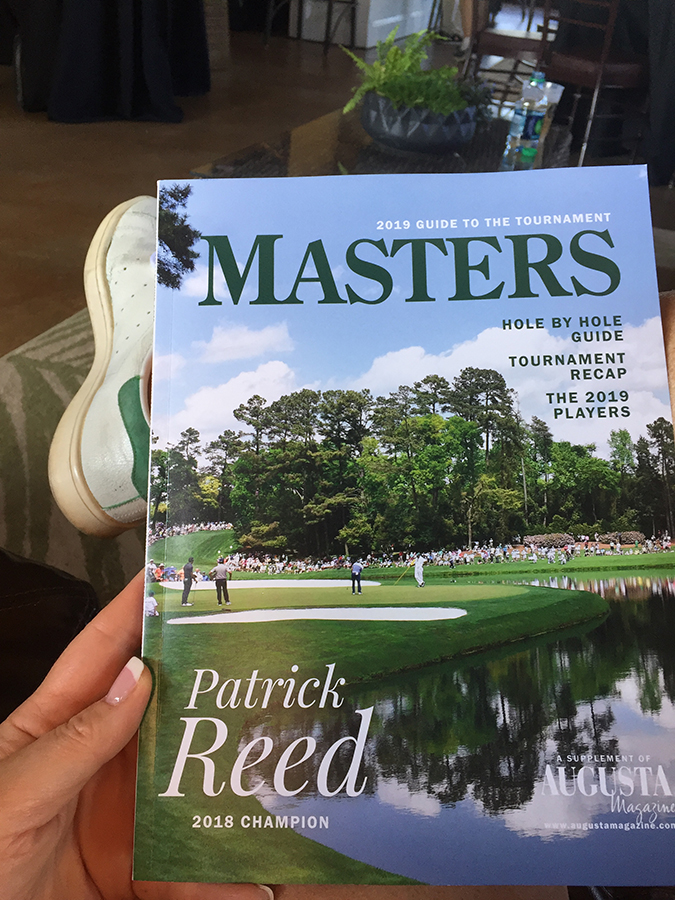 Masters hospitality including tournament badges and practice round tickets.JPG
