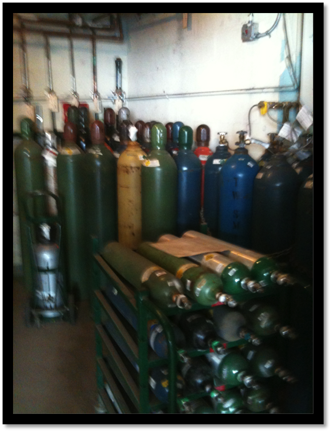 Gas Storage Room-Before
