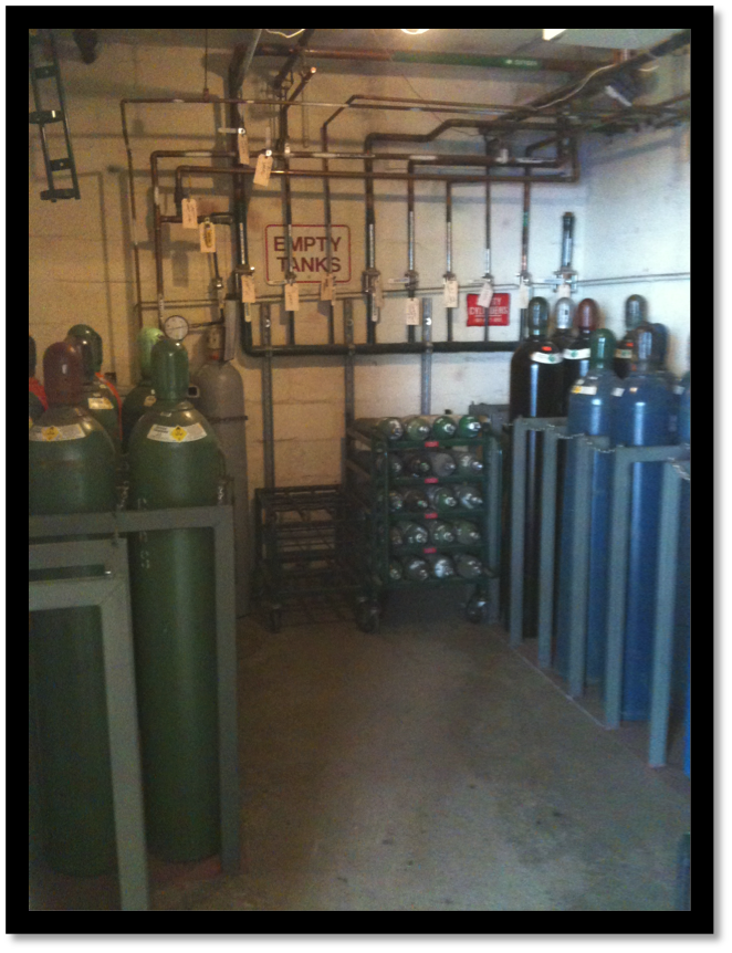 Gas Room Storage- After
