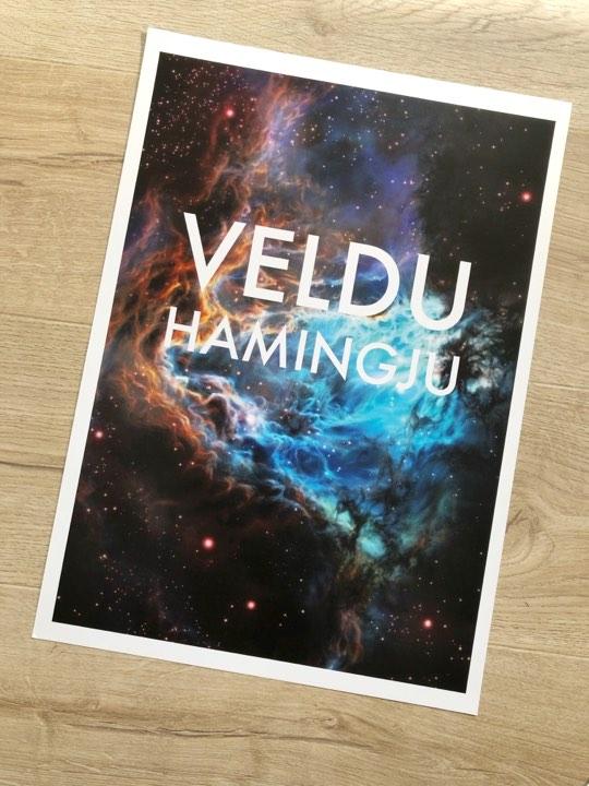 Veldu hamingju - Plakat. Stærð A3. Verð 3500kr
