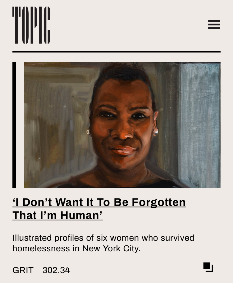 'I don't want it to be forgotten that I'm human: A series of portraits of women, curated by Allie Wilkinson