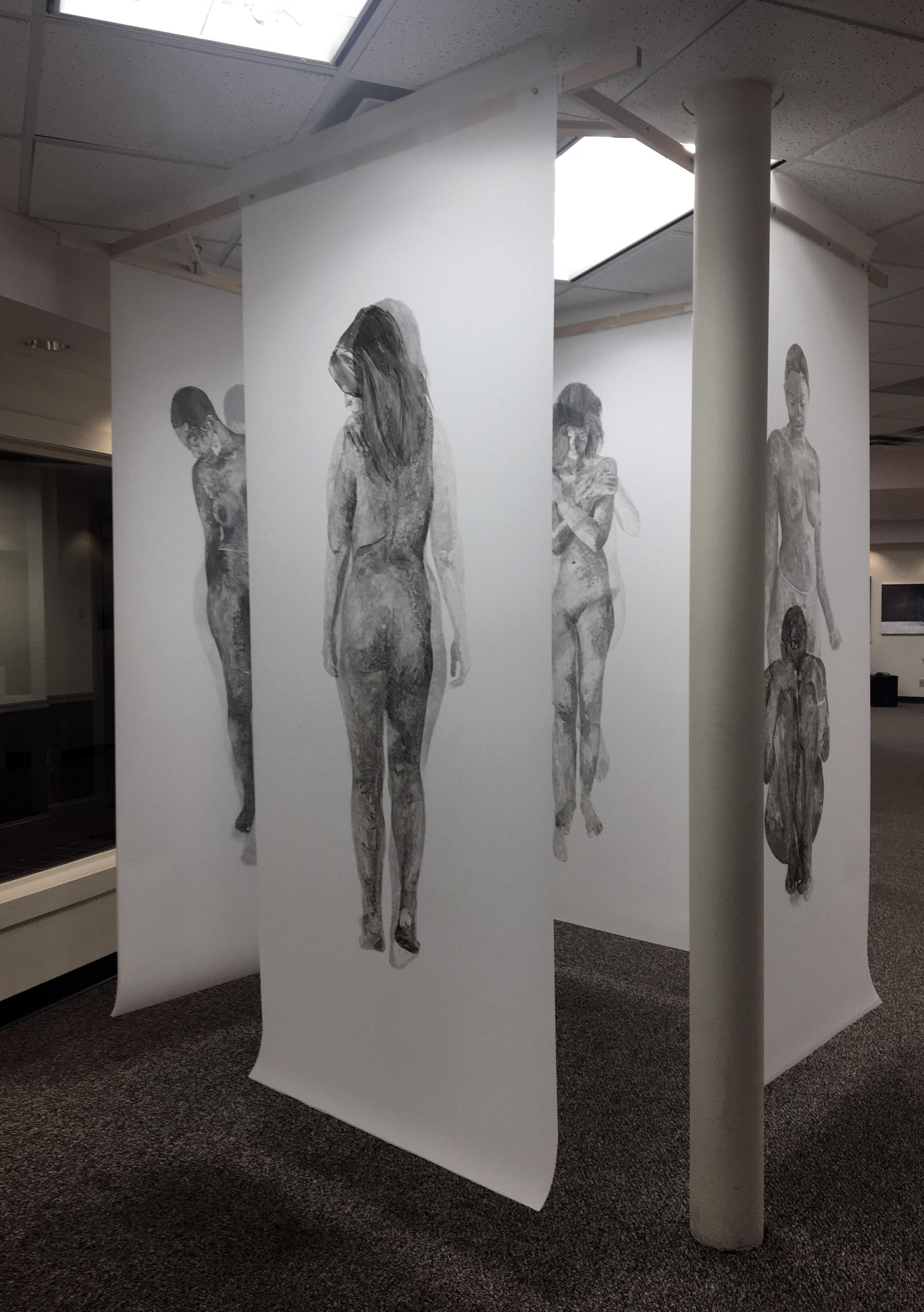 Installation at 77ART Gallery, 2019