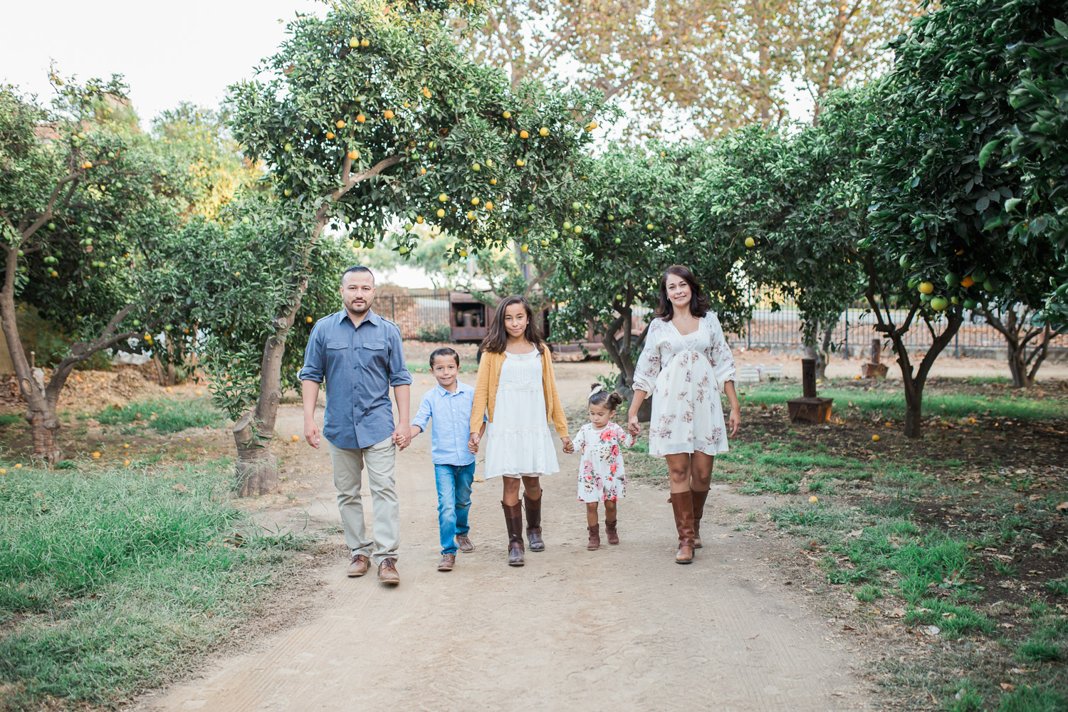 La Verne Heritage Park Pumpkin Patch | Berdugo Family Session | Family Photographer | La Verne, CA