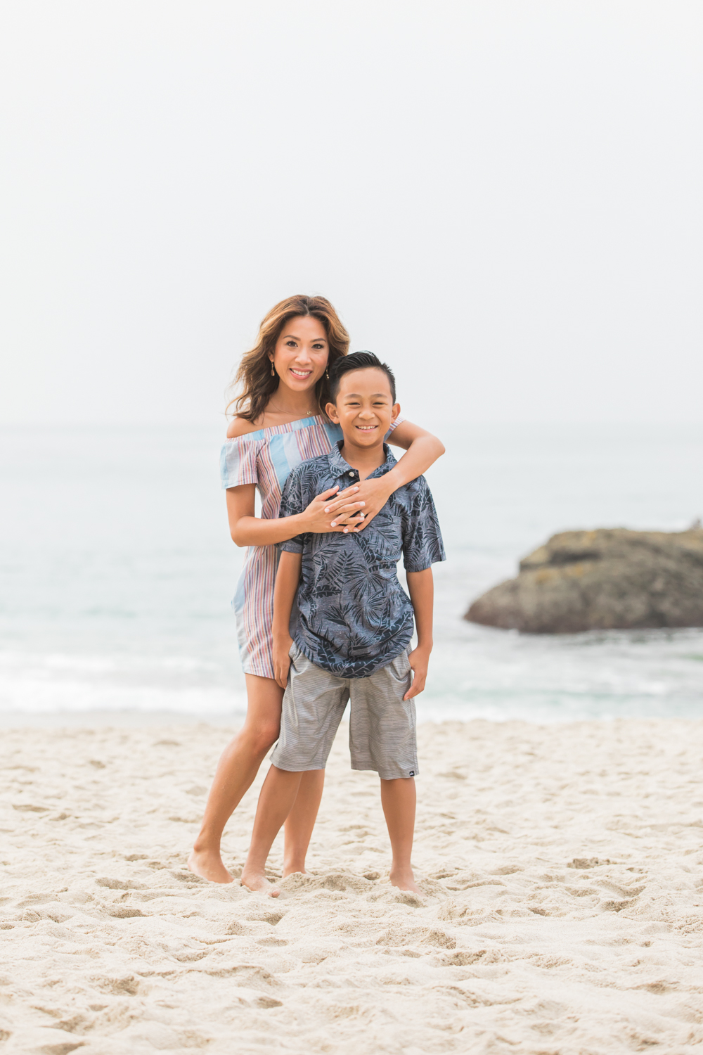 Cosico Family Session | Family Photographer | Laguna Beach, California