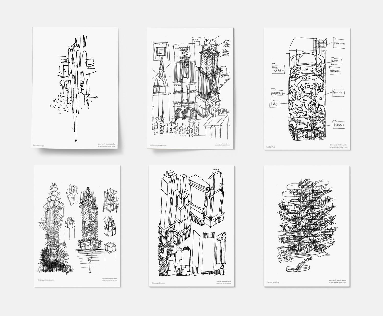 NYXTNY Drawings Martin Lenclos