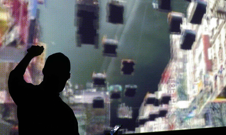 NYXTNY Installation Museum Moving Image by Martin Lenclos