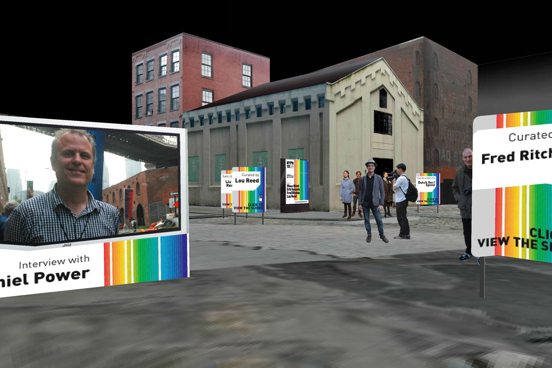 Martin Lenclos Coverage in 3D of NY Photo Festival