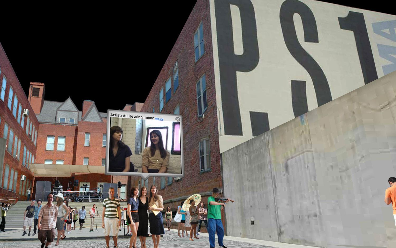 MoMA PS1 Warm Ups Coverage3d Martin Lenclos