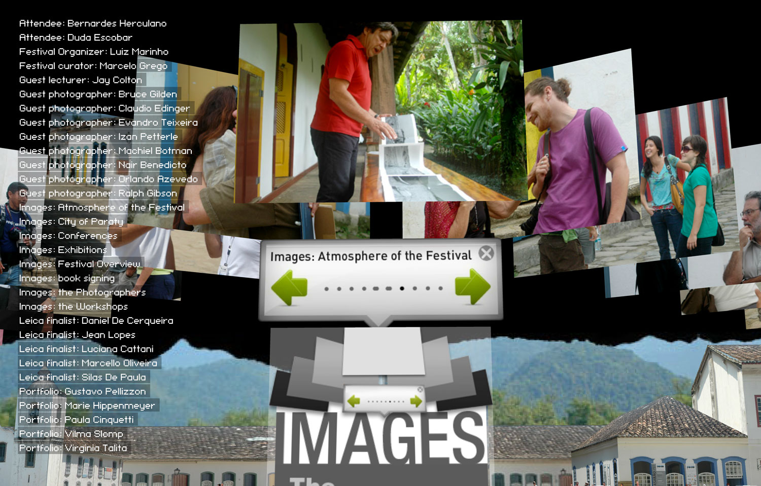 Multimedia coverage by Martin Lenclos