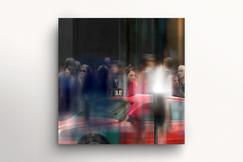 Take This Call (36 Movie Frames of a Virtual World Series, No 1/36) Framed. Martin Lenclos