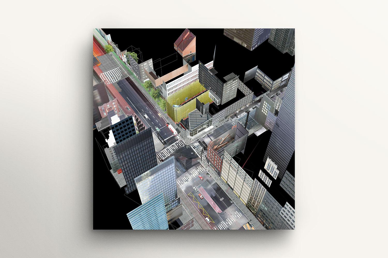 Constructive St. (36 Movie Frames of a Virtual World Series, No 15/36)