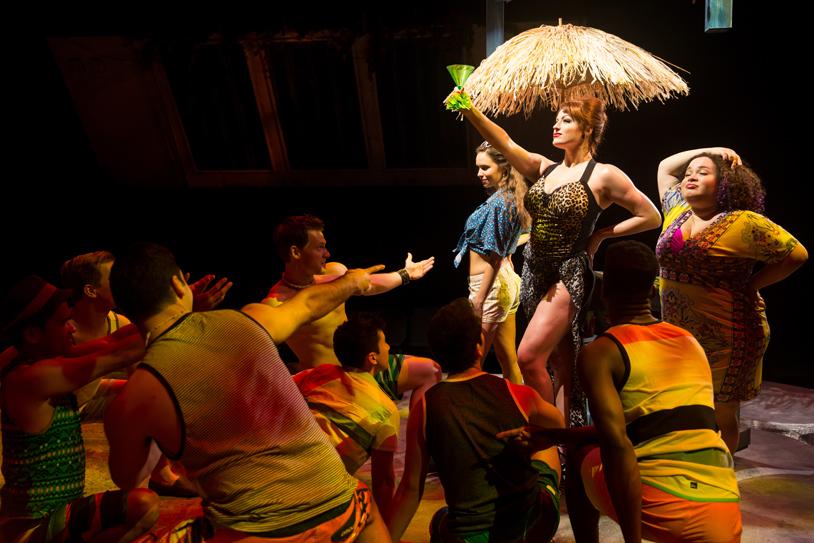 Meghan Murphy and Company of Mamma Mia @ The Marriott Theater