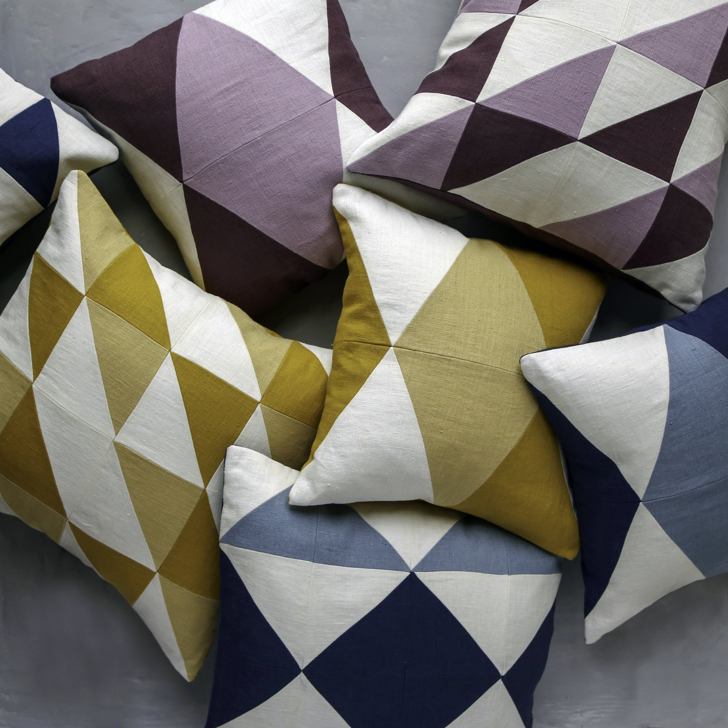 - NEW :STONEWASHEDLINEN PILLOWS