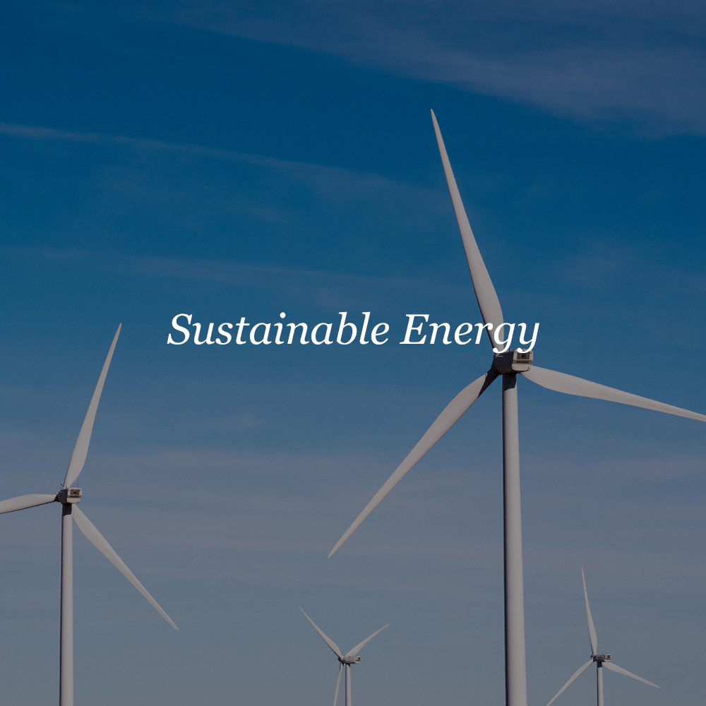 Sustainable Energy    Energy Efficiency  Demand Reduction  Renewable Energy  Storage  Electrification  Energy Safety