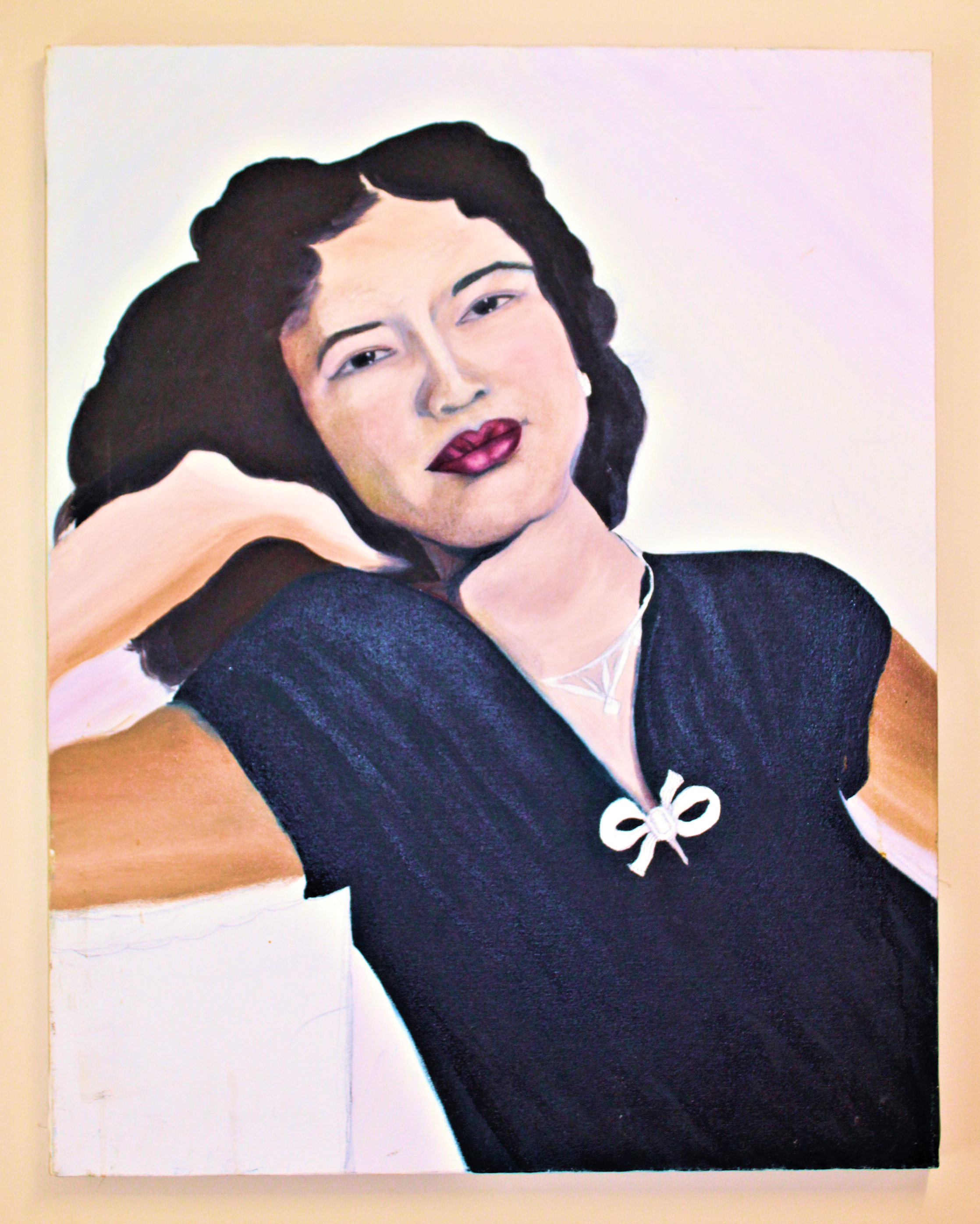 Unfinished Self Portrait
