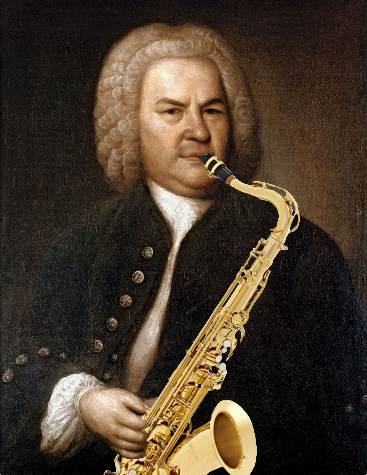 Not certain J. S. Bach played tenor sax. Will have to ask Steve.