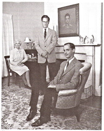 John Waters and his parents.