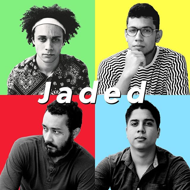 """As many of you know, we'll be in the studio in a few days. So we wanted to tease a bit of the album. Shout out to Miranda Eliot for her incredible photography and Brendan Ciccone's amazing designs. Hit them up for work! """"Jaded"""" will be produced by Nik Bruzzese. When we get back we'll be dropping a single, we hit the road tomorrow. We'll also be updating our progress in the studio via our Snapchat @savedbyfriday, so add us! We hope you like the artwork, stay tuned."""