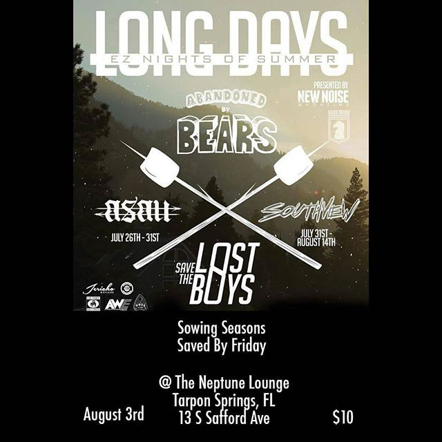 Next Wednesday! Our friends in @sowingseasonsband will be there along with some awesome bands, come have a good time!