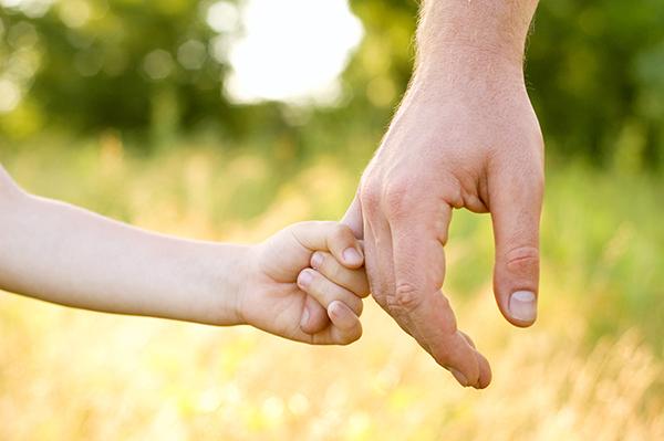 ©khorzhevska father son hands