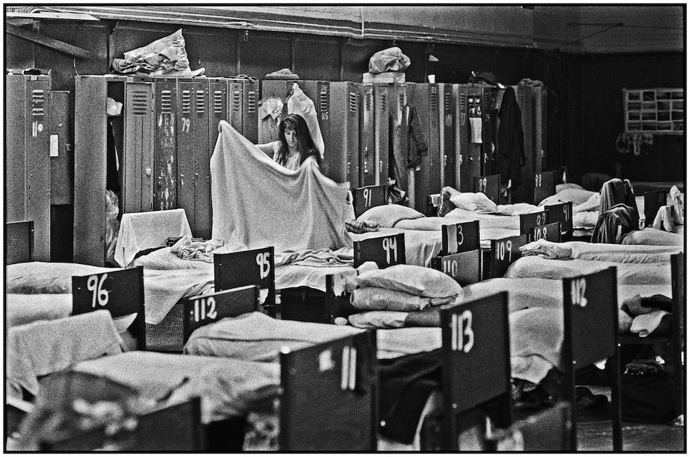 Shelter for Women, Lexington Avenue National Guard Armory, Manhattan (LANGA).