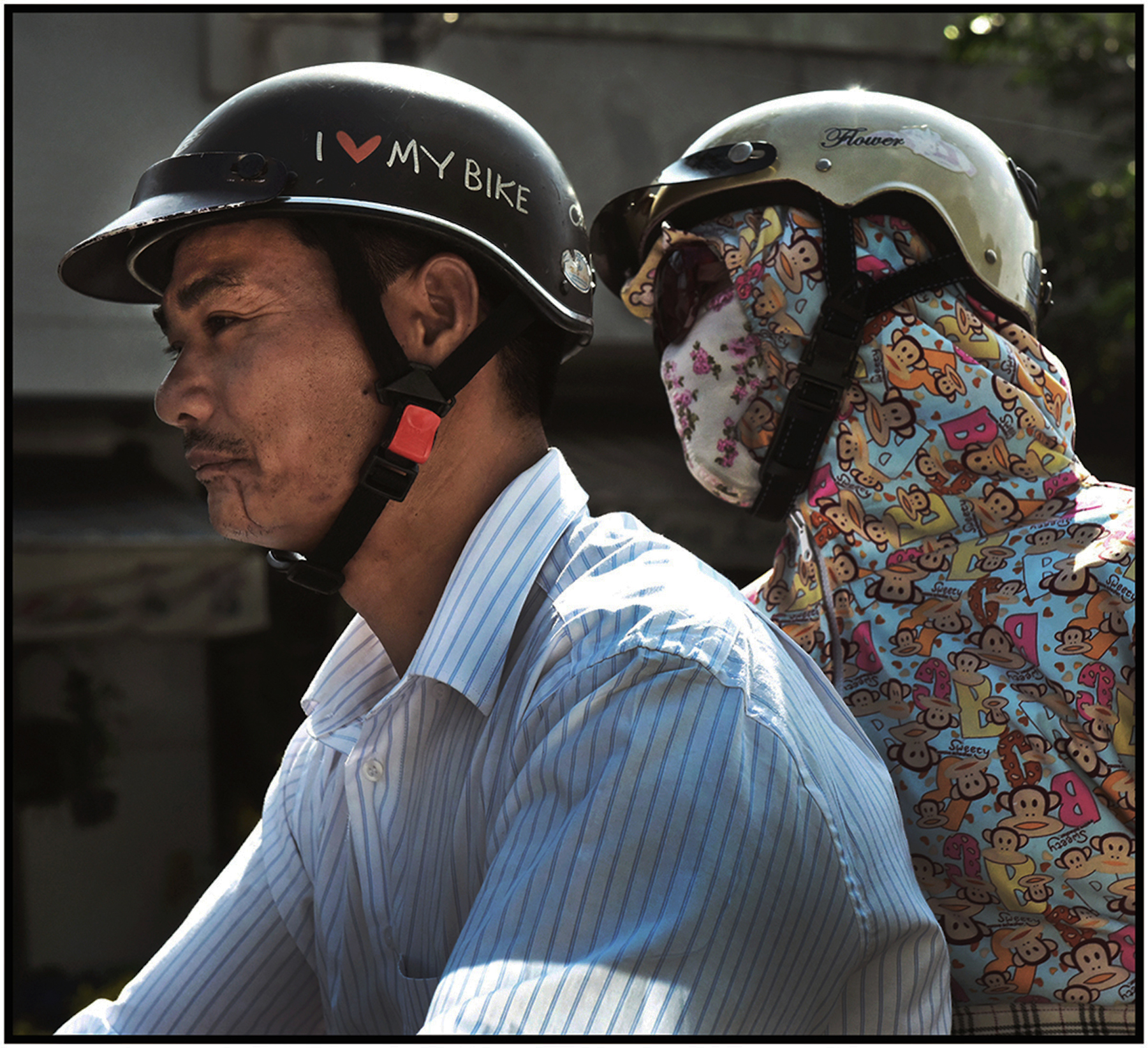 """I Love My [Motor] Bike,"" Saigon/HCMC, Dec. 2016. #2341"
