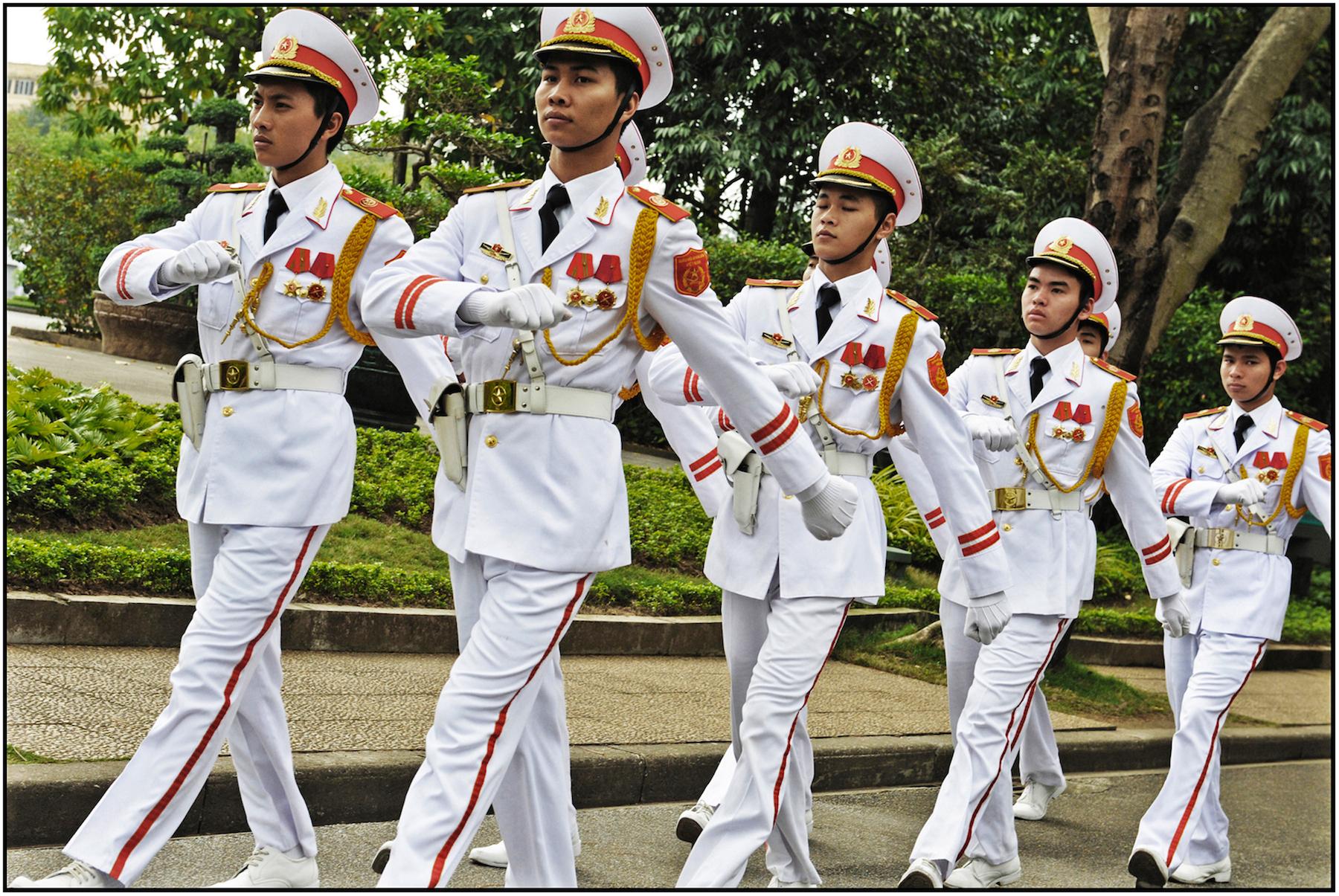 Ho Chi Minh Mausoleum, Hanoi, Feb. 2015. #2955