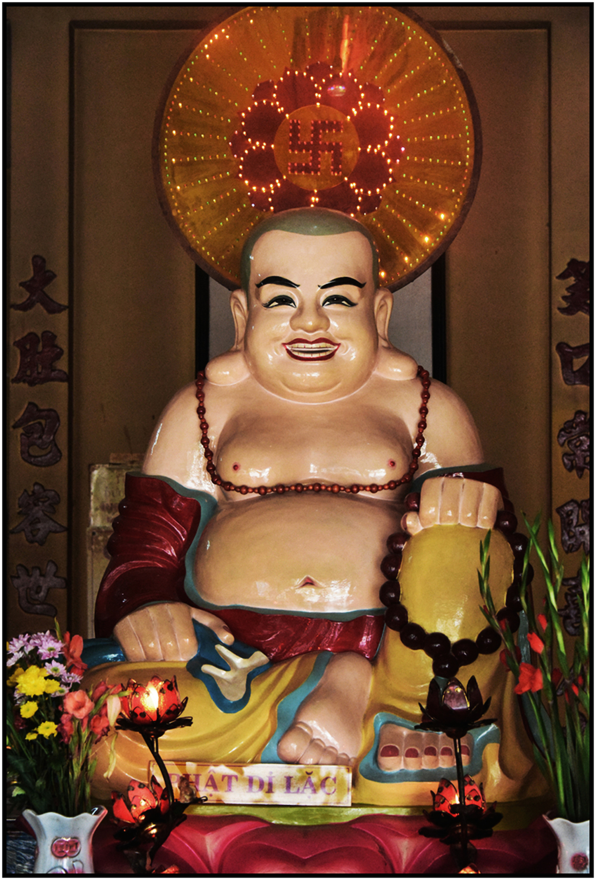 """Great Man"" Buddhist Temple, Saigon/HCMC, Dec. 2015 #4447"
