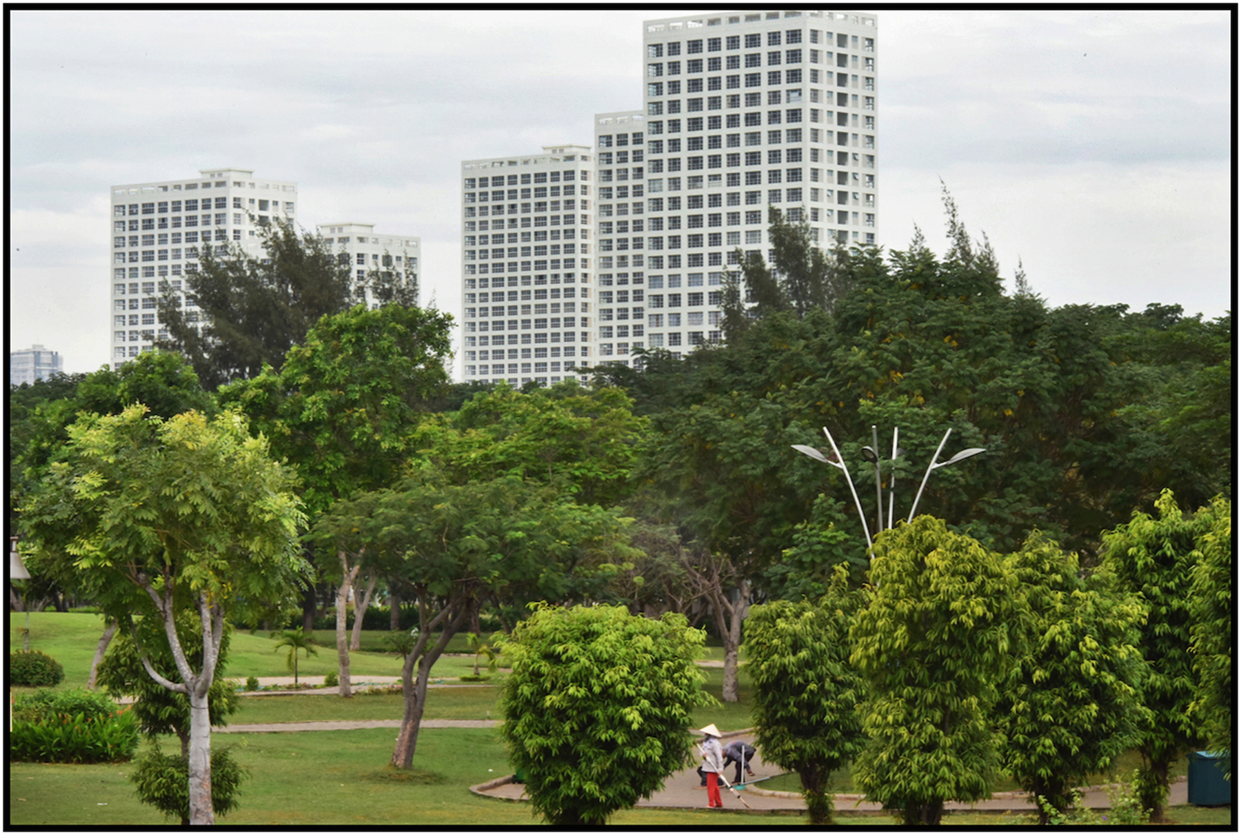Phu My Hung, luxury condo development, Saigon/HCMC, Dec. 2015. #4796