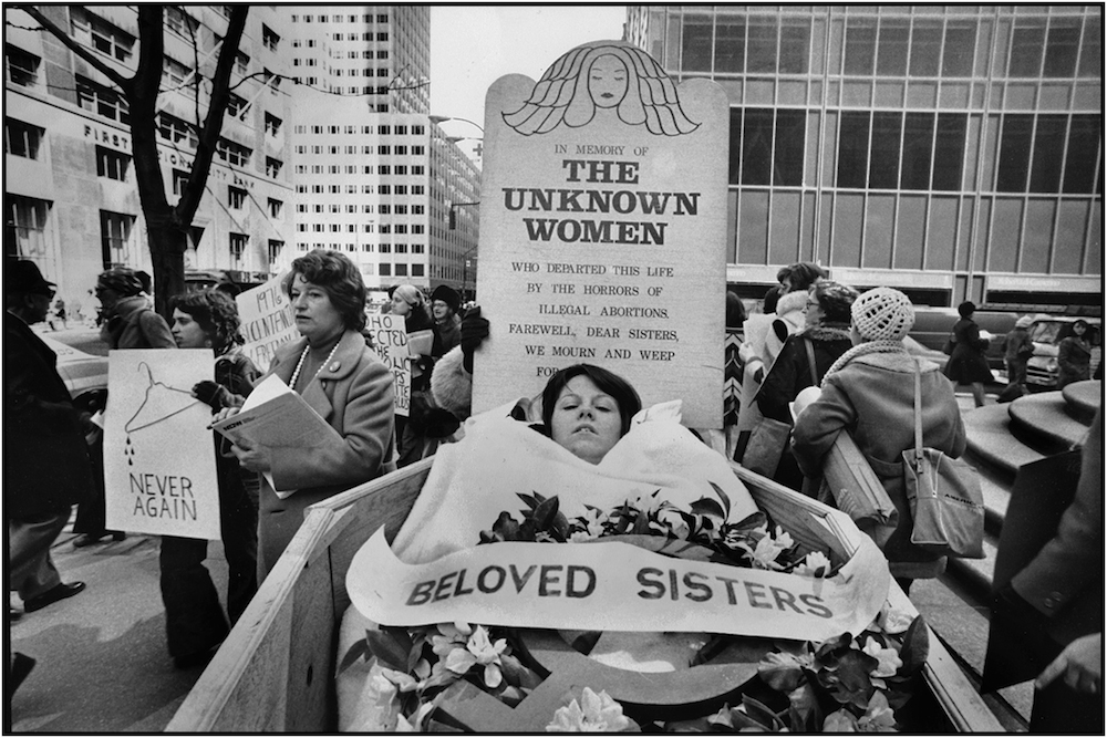 Pro-Choice Demonstration, Fifth Ave., NYC, 197-.