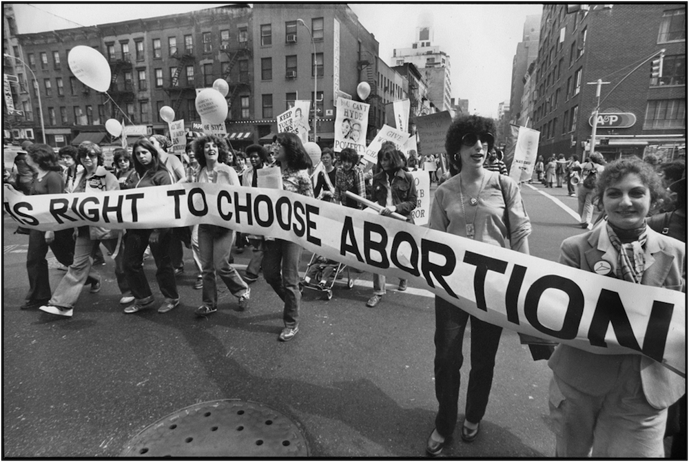 Pro-Choice March, NYC, 19—.