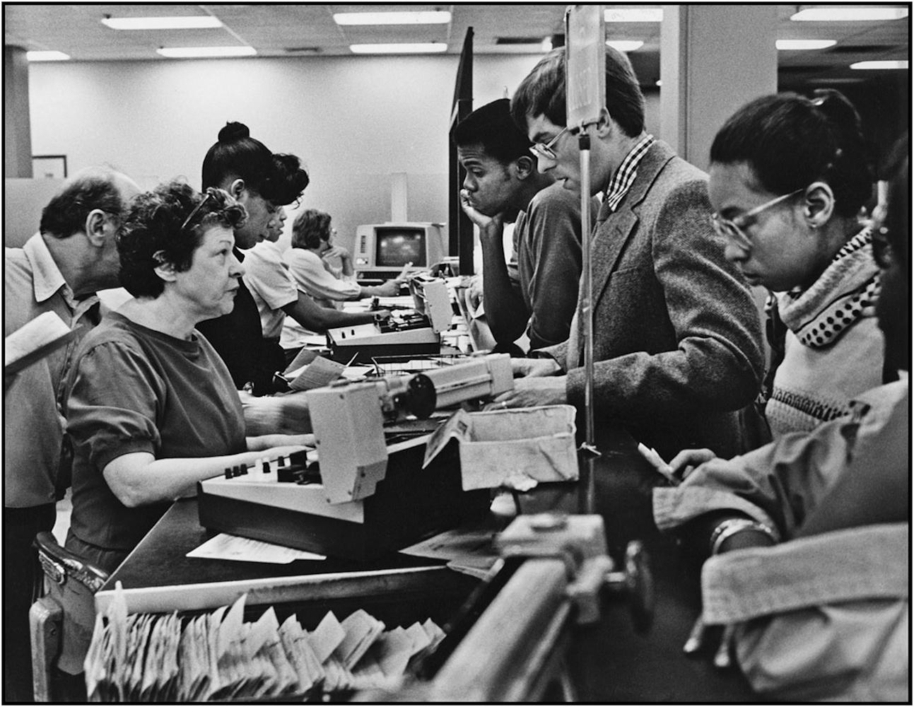 New York State unemployment office, Manhattan.