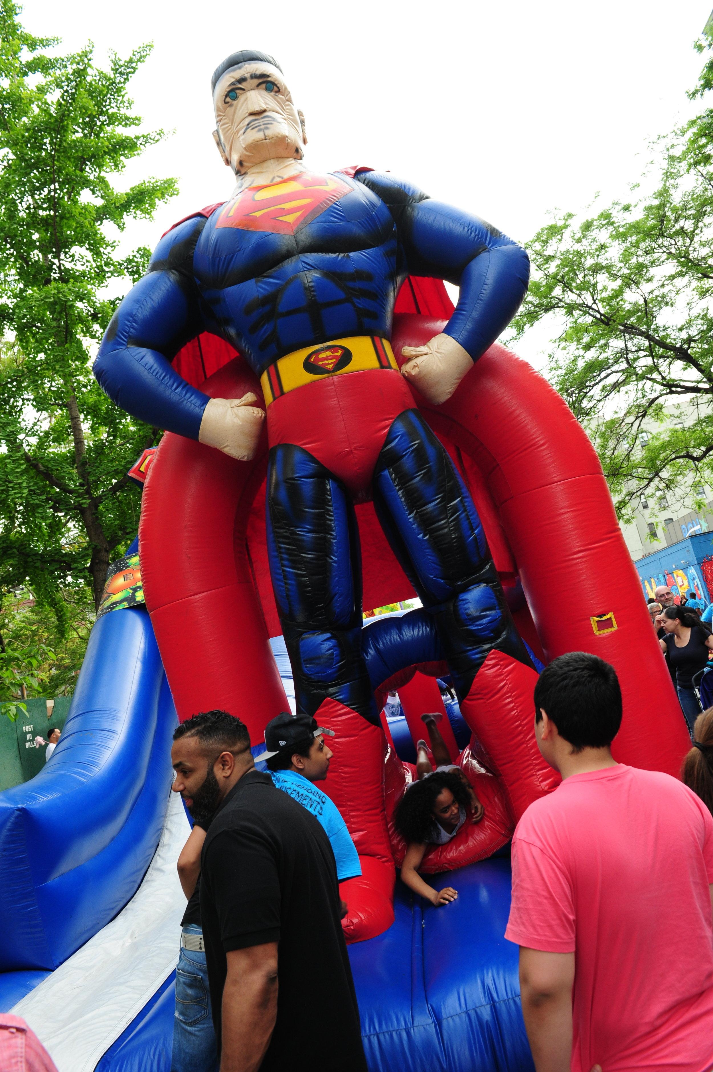 """Latino Superman"""