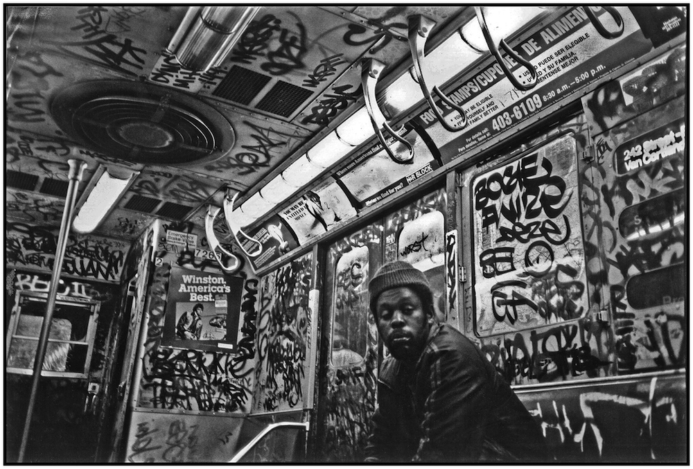 """Subway Art,"" NYC, 1985."