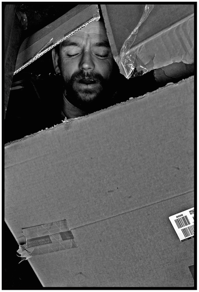 """Boxed In,"" NYC, 2006."