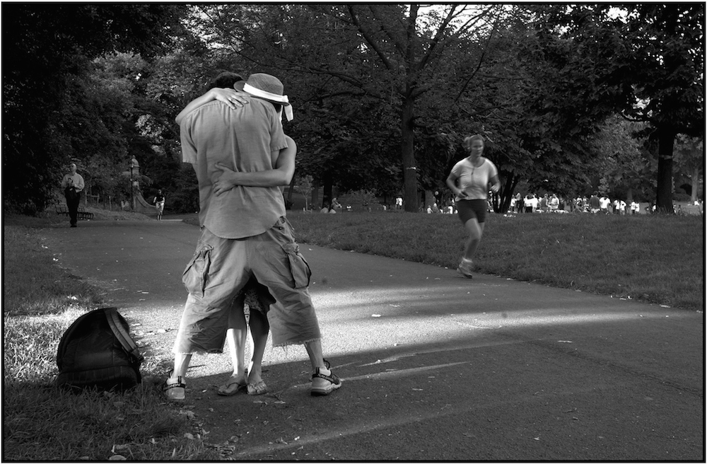 """The Hug,"" Prospect Park, Brooklyn, NYC."