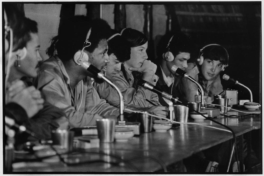 65  12   FIRST VENCEREMOS BRIGADE LEADERS CHAIR MEETING   CUBA  1969  George Cohen    copy.jpg