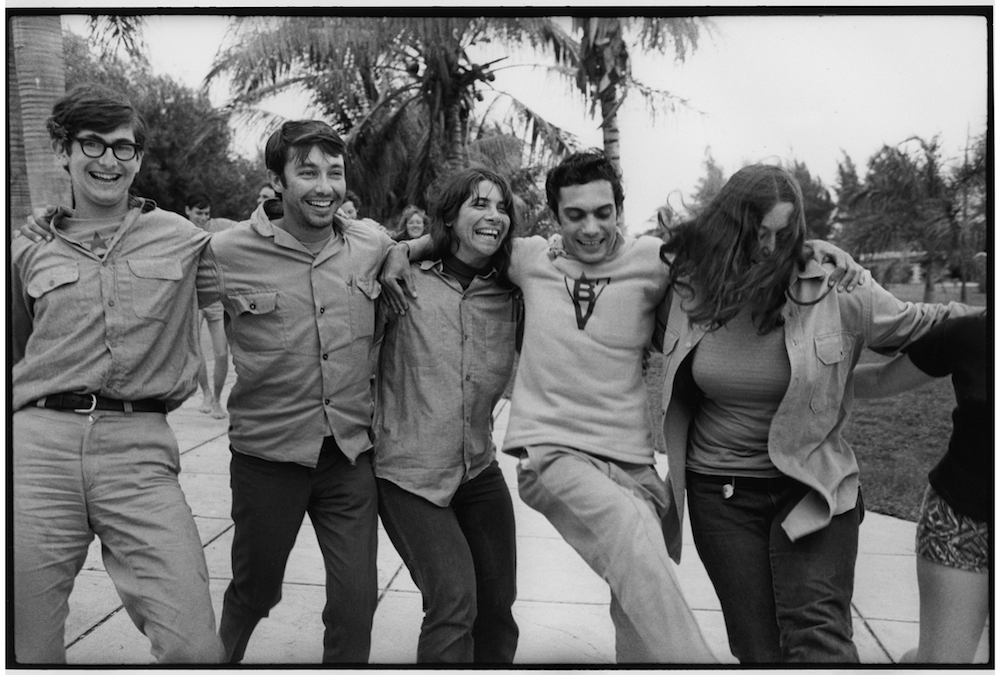 CUBANS AND BRIGADISTAS CELEBRATE  1969  George Cohen    copy.jpg