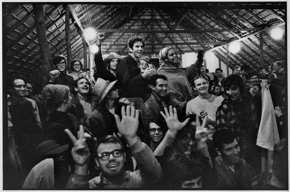 FIRST VENCEREMOS BRIGADISTAS  CUBANS  MEETING  1969  George Cohen  14-3a   copy.jpg