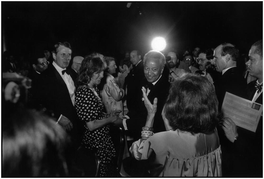 David Dinkins, Fundraiser, 1989.
