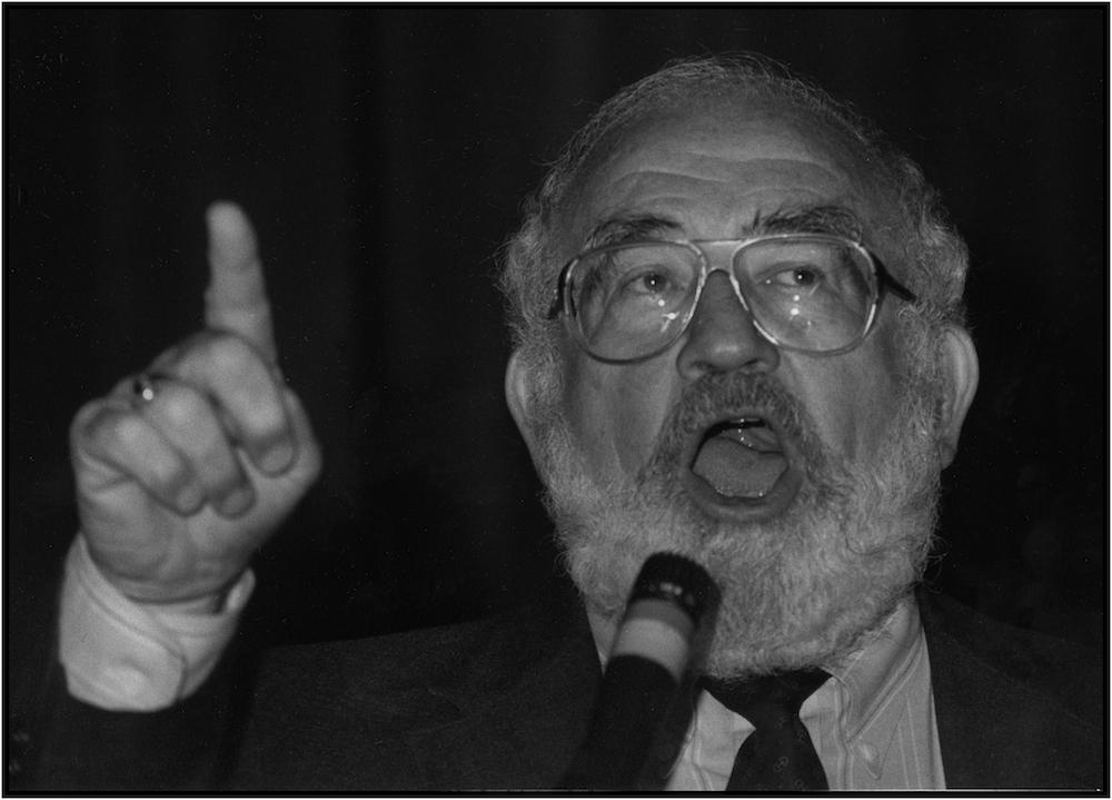 Ed Asner, 1988.