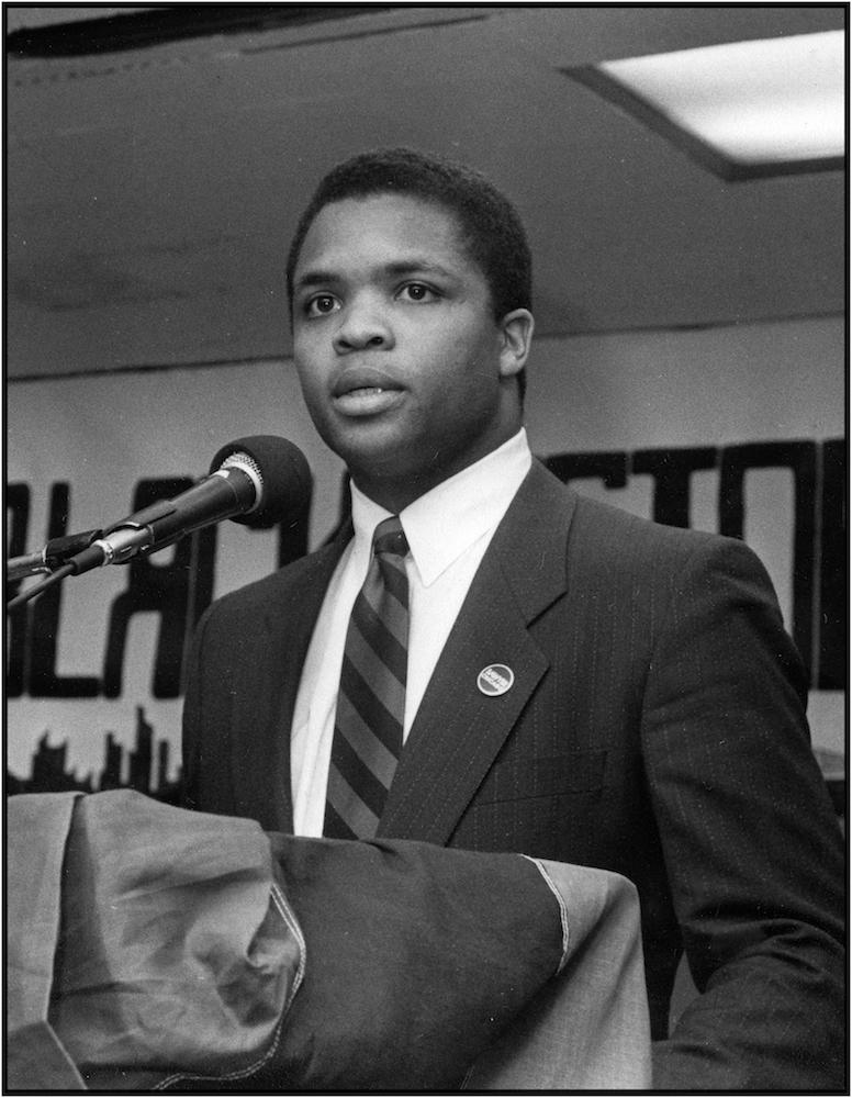 Jesse Jackson Jr., 1989.
