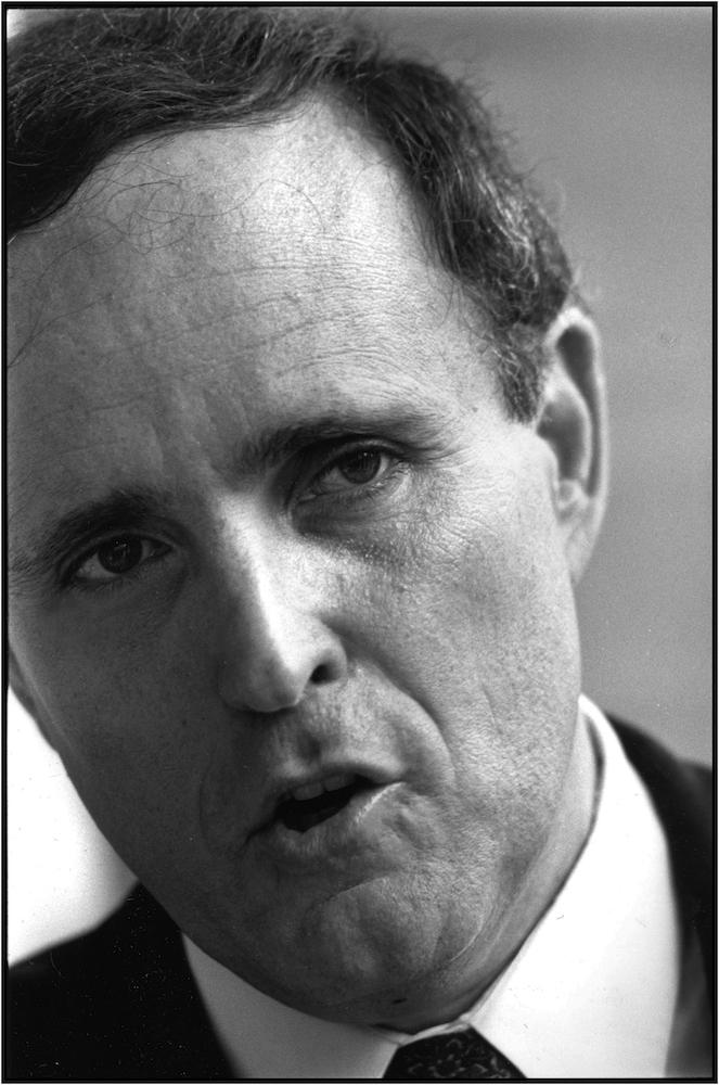Rudolph Giuliani, 1992.