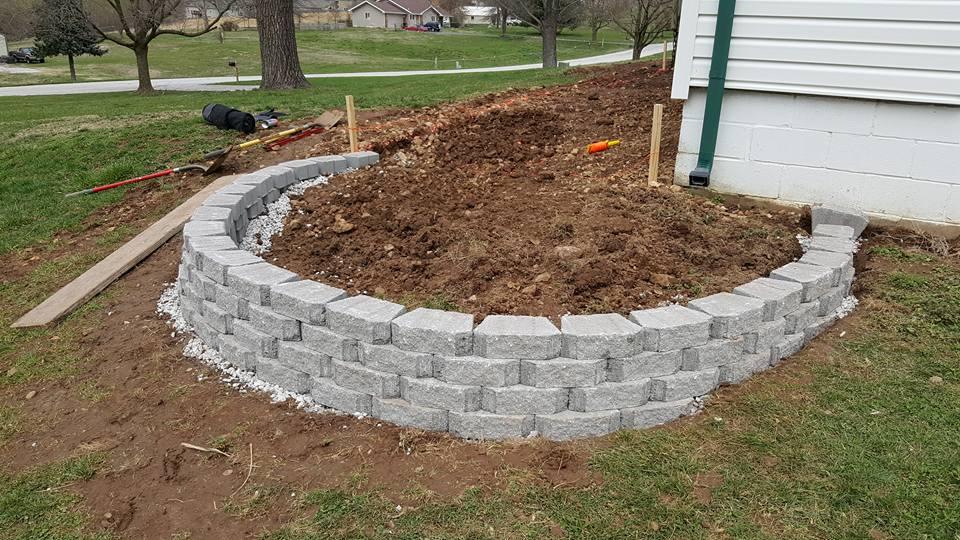 Complete landscape job in Springfield