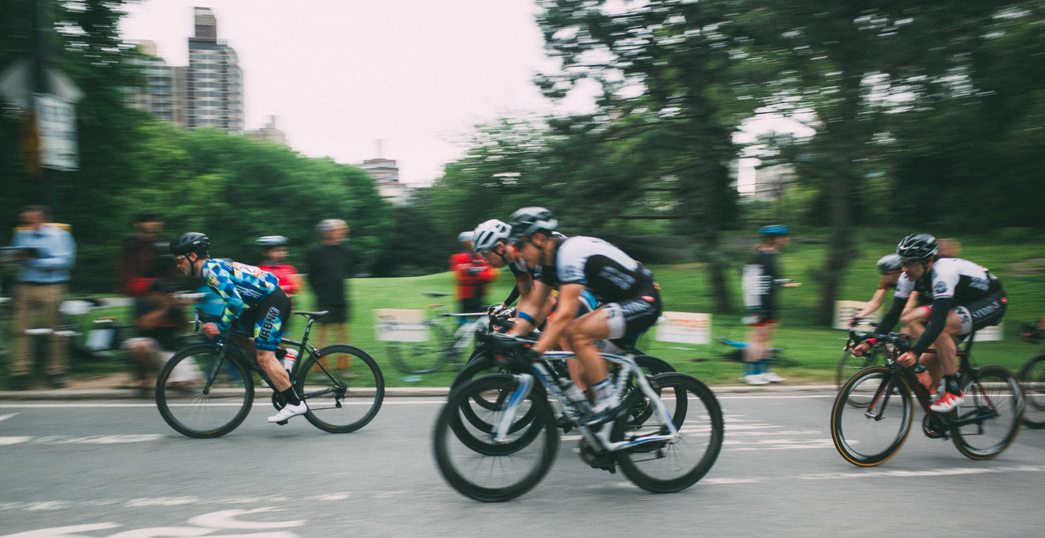 Racers in action at the 2017 Dave Jordan Central Park Classic. (Photo from the  To Be Determined Journal Dave Jordan Central Park Classic Race Report )