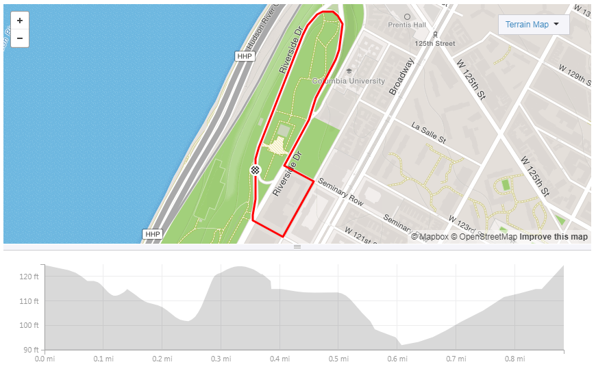 Click through to Strava.com to see the full course details