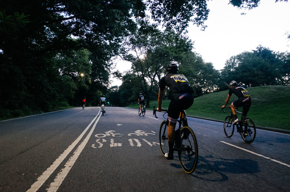 Racers on their way to a Lucarelli & Castaldi CRCA Club Series Race in July 2017. This photograph and the header image from the  To Be Determined Journal Race Recap .
