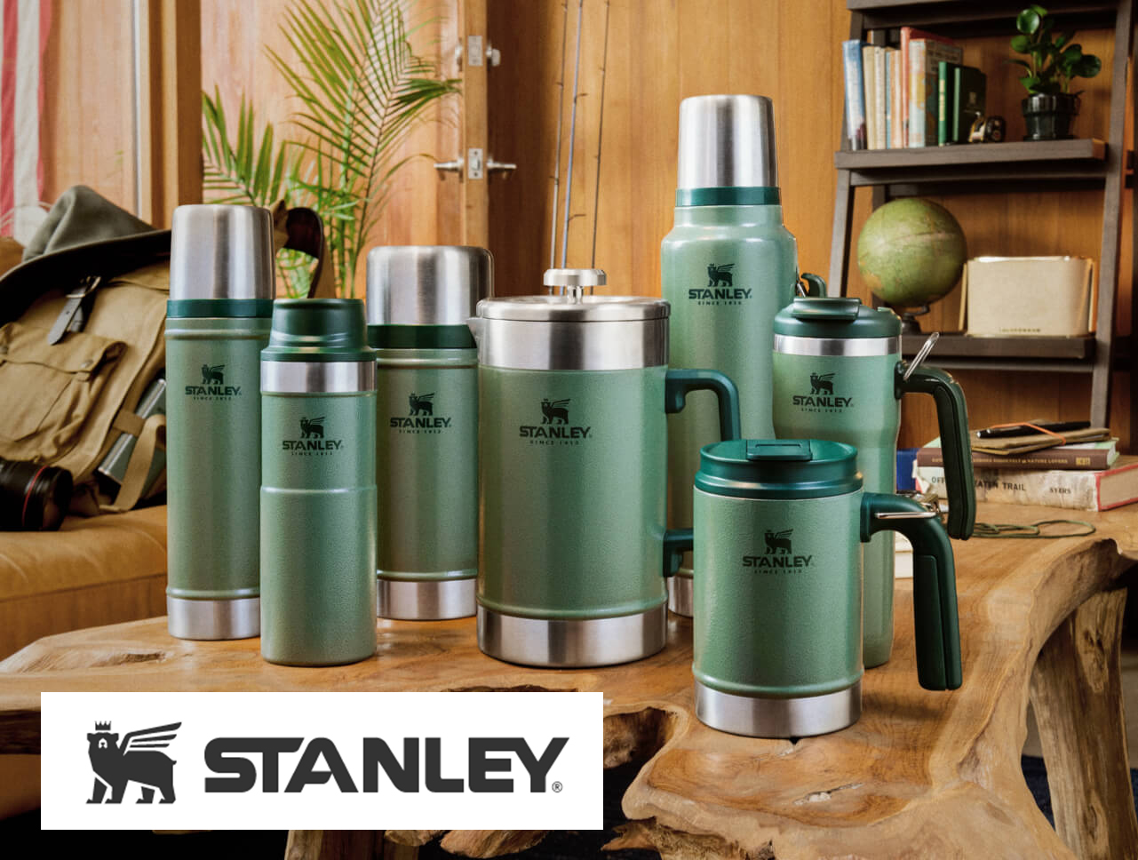 Coffee Pack - This Stanley Coffee Pack comes with 4 vacuum insulated coffee mugs with thermal lids that keep drinks hot for up to 7 hours and iced 30 hours. Also includes 1 vacuum French Press for all day-sipping. Lastly, a 2 qt thermos that is leak proof and fully packable, also BPA free is included.Retail: $200Donated by: Pacific Market International